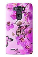 Чехол для LG G4 (Орхидеи)