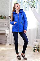 Демисезонная куртка с силиконом на молнии, с капюшоном
