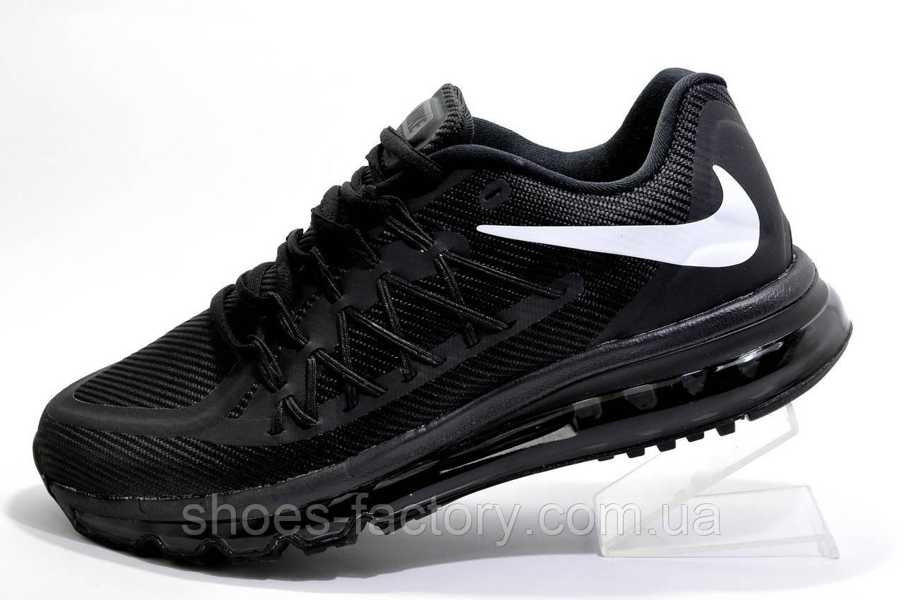 Мужские кроссовки в стиле Nike Air Max 2015 Mens, Black\Черные