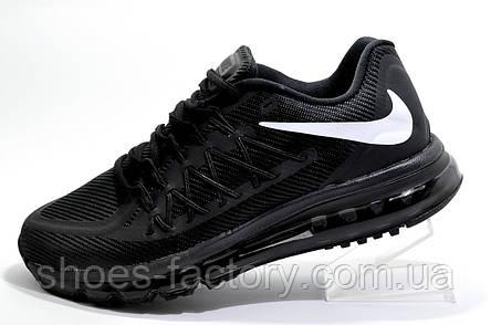 Мужские кроссовки в стиле Nike Air Max 2015 Mens, Black\Черные, фото 2