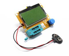 ESR, LCR метер T4 Mega328, тестер для конденсаторів(Українська прошивка)