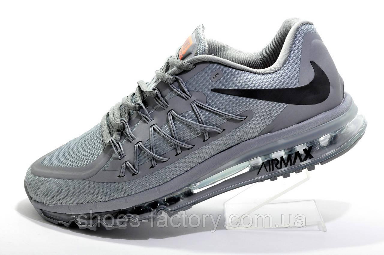 Беговые кроссовки в стиле Nike Air Max 2015 Mens, Gray
