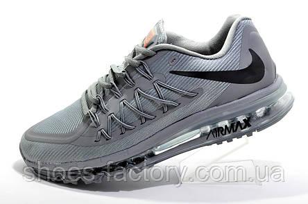 Беговые кроссовки в стиле Nike Air Max 2015 Mens, Gray, фото 2