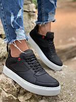 Чоловічі кросівки KNACK 035 black/white, фото 1