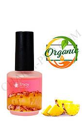 "Масло для кутикули Enjoy c ароматом Ананаса ""Pink Cuticle oil"" 15мл."