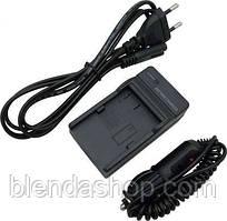 Зарядное устройство + автомобильный адаптер LC-E6E -аналог для CANON 70D 60D 6D 7D - (АКБ LP-E6, LP-E6N)