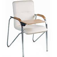 Конференц кресло SAMBA (САМБА) T WOOD с деревянным столиком