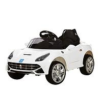 Електромобіль дитячий Bambi M 3176EBR білий CH909