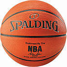 Мяч баскетбольный Spalding NBA Silver Outdoor Size 5, фото 2