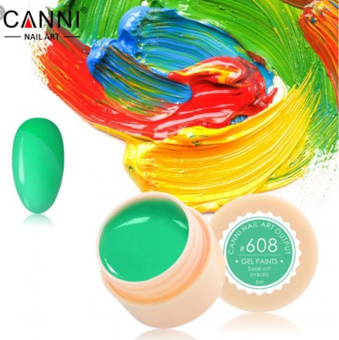 Гель-краска CANNI №608 5мл