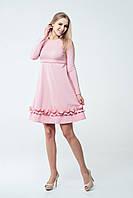 Платье для беременных и кормящих Lullababe Paris Пудра