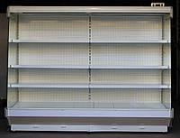 Холодильная горка «Bolarus R-2500-W» 2.5 м. (Польша), с ночной шторкой, Б/у, фото 1