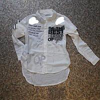 Рубашка для девочек от 9 до 12 лет