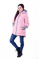 Слингокуртка и Куртка для беременных 3в1 Lullababe Nurmes Розовый, фото 1