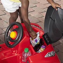 Машинка каталка з ручкою Sports Ride червоний Step2 8744, фото 3