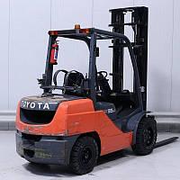 Вилочный погрузчик Toyota 7-FBE-15 Газ Б/У