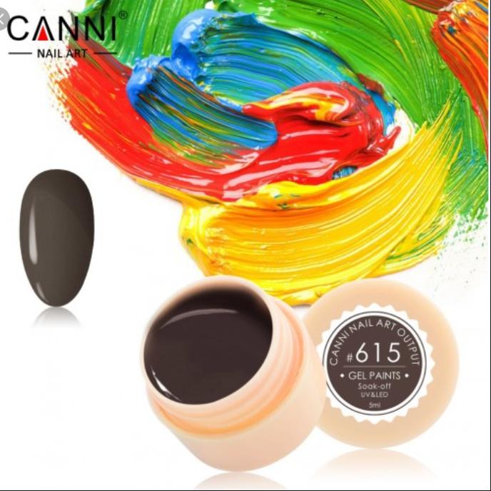 Гель-краска CANNI №615 5мл
