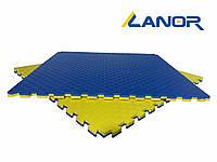 Мат-татами ласточкин хвост Lanor (80кг/м3) 30мм 1*1м, фото 1