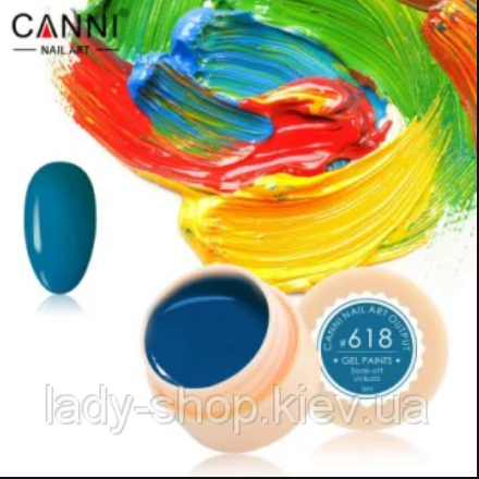 Гель-краска CANNI №618 5мл