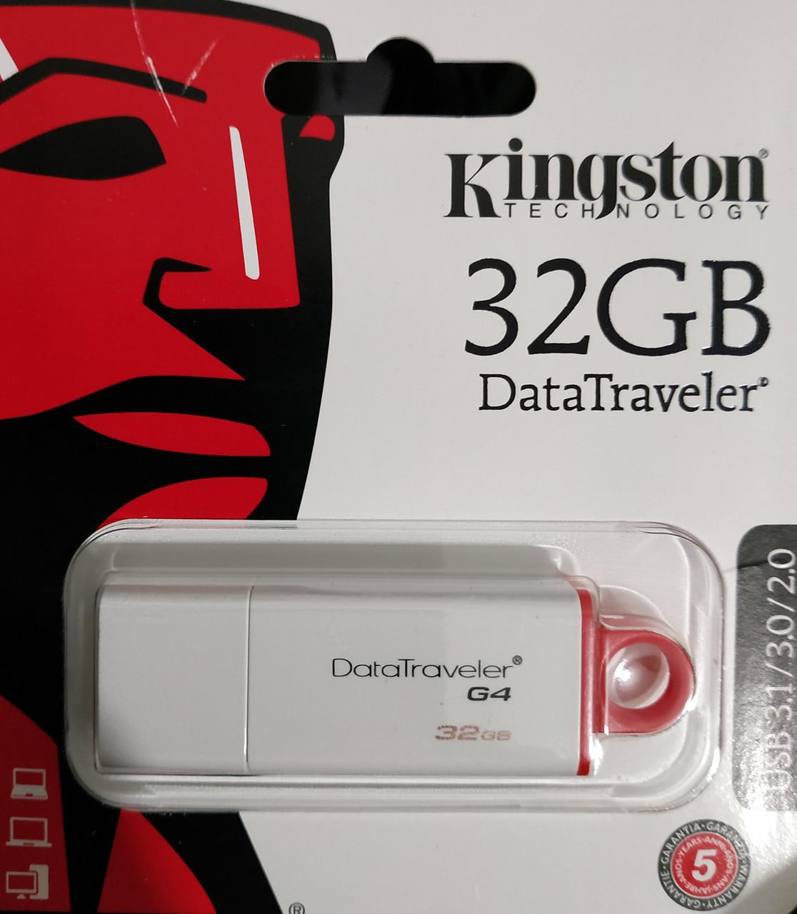 Флеш накопитель Kingston DataTraveler G4 32 гб 3.1