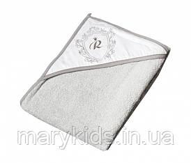 Дитячий рушник Tega Baby Royal Rl-008 100x100 Grey