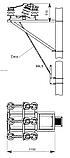 Разъединитель РЛН-20/630 наружной установки рубящего типа, фото 5