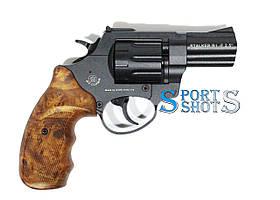 """Револьвер Stalker 2.5"""" чёрный матовый / рукоять под дерево"""
