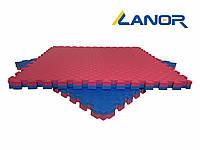 Мат-татами ласточкин хвост Lanor (80кг/м3) 40 мм 1*1м, фото 1