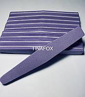 Шлифовка/полировка для маникюра фиолетовая 80/150 (10шт)