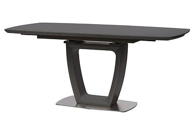 Стол Ravenna раскладной 120/160 см стекло dark grey ТМ Concepto