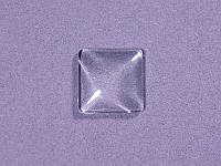Заготовка под украшение квадратной формы, 15x15 мм, 1 шт