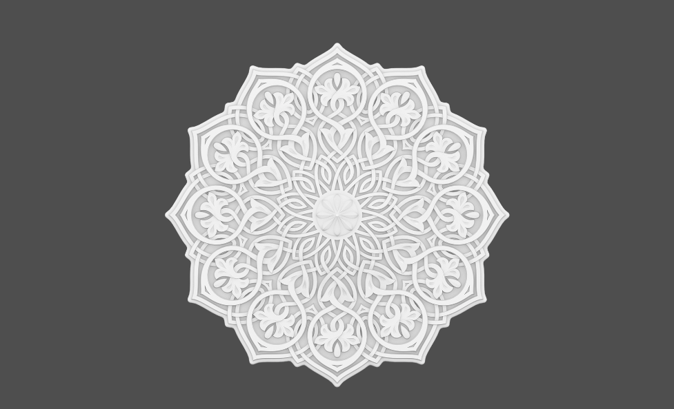 РОЗЕТКА 1.56.502 Европласт (Коллекция Мавритания)