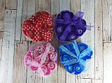 Набор подарочное мыло розы 9 бутонов фиолетовое ( подарок на 14 февраля ), фото 2