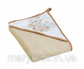 Детское полотенце Полотенце Tega Mis TG-071 100*100 Beige