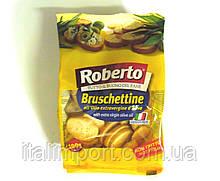 """Сухарики """"Брускеттине"""" с оливковым маслом Roberto 100г"""