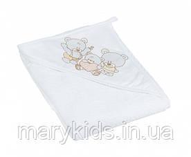Дитячий рушник Рушник Рушник Tega Mis TG-071 100*100 White