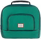 Универсальная детская коляска  2 в 1 Adamex Luciano кожа 100% Q117 зеленый (изумруд) перламутр, фото 8