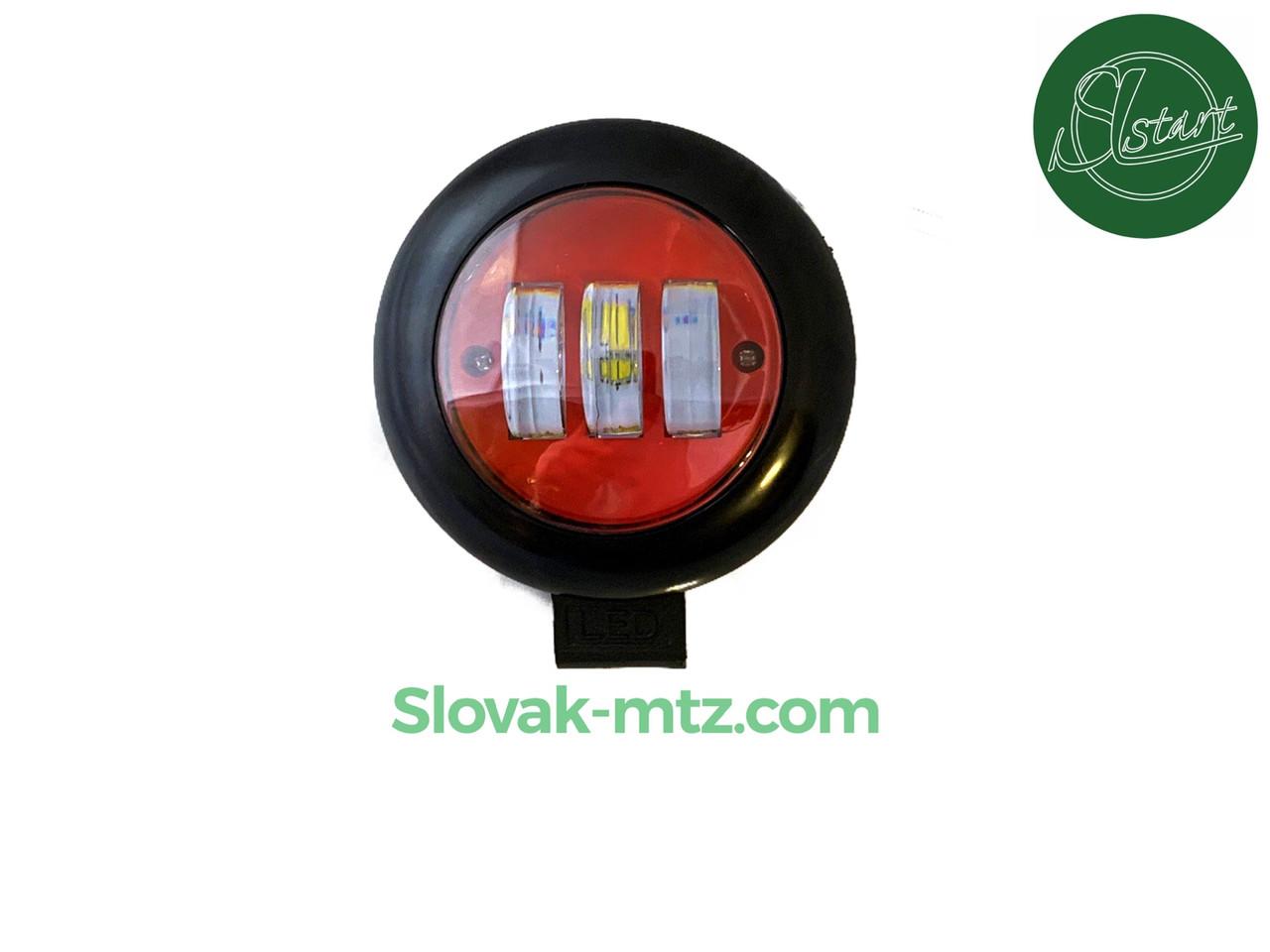 Дополнительная светодиодная LED фара 30Вт Круглая