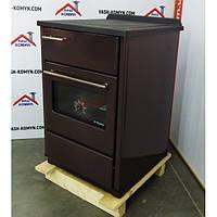Варочная печь с духовкой Plamen Calorex 60, коричневая, фото 1