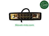 Светодиодная LED фара 18Вт  (светодиоды 2w x5шт +Стробоскопы )