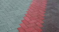 Тротуарна плитка Кирпич 200х100 без фаски