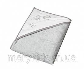 Дитячий рушник Tega Sowa SO-007 100x100 Grey