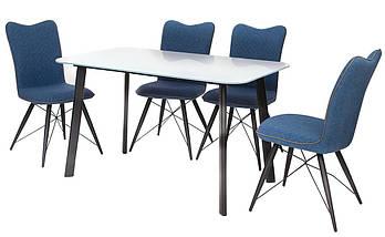 Обеденный стол Т-312 белый 130*80 см белый TM Vetro Mebel, фото 3