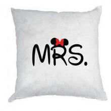 Подушка  с любым принтом  MRS.MR.