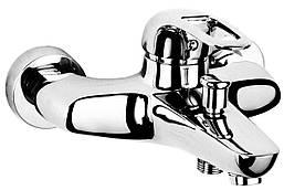PILOT Смеситель для ванны однорычажный, хром 40мм