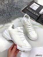 Кроссовки Dior D-Connect . Цвет:белый