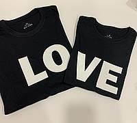 Футболка женская, футболка мужская, футболка с принтом, набор футболок, подарок на день св.Валентина