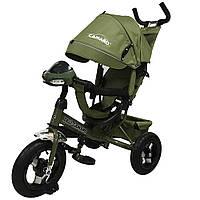 Детский трёхколёсный велосипед Camaro, «Tilly» (T-362), цвет Green (зелёный)
