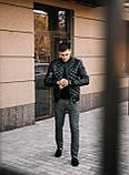 Чоловіча куртка. Шкіряна куртка., фото 2