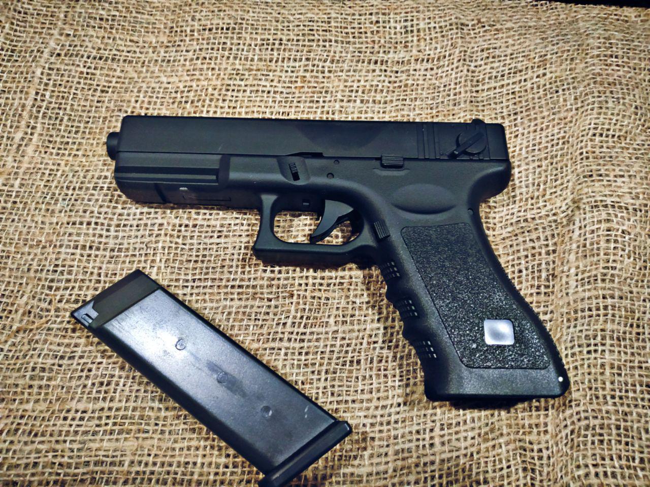Детский Страйкбольный  Glock 17 Глок